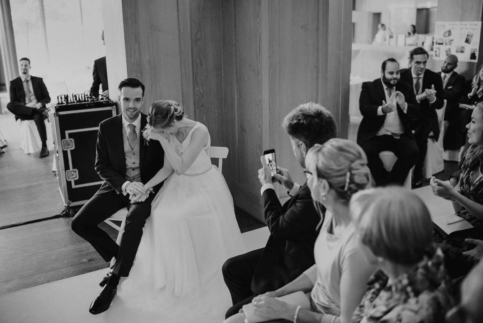 Freie Trauung im Kaminzimmer Burg Heimerzheim Hochzeitslocation