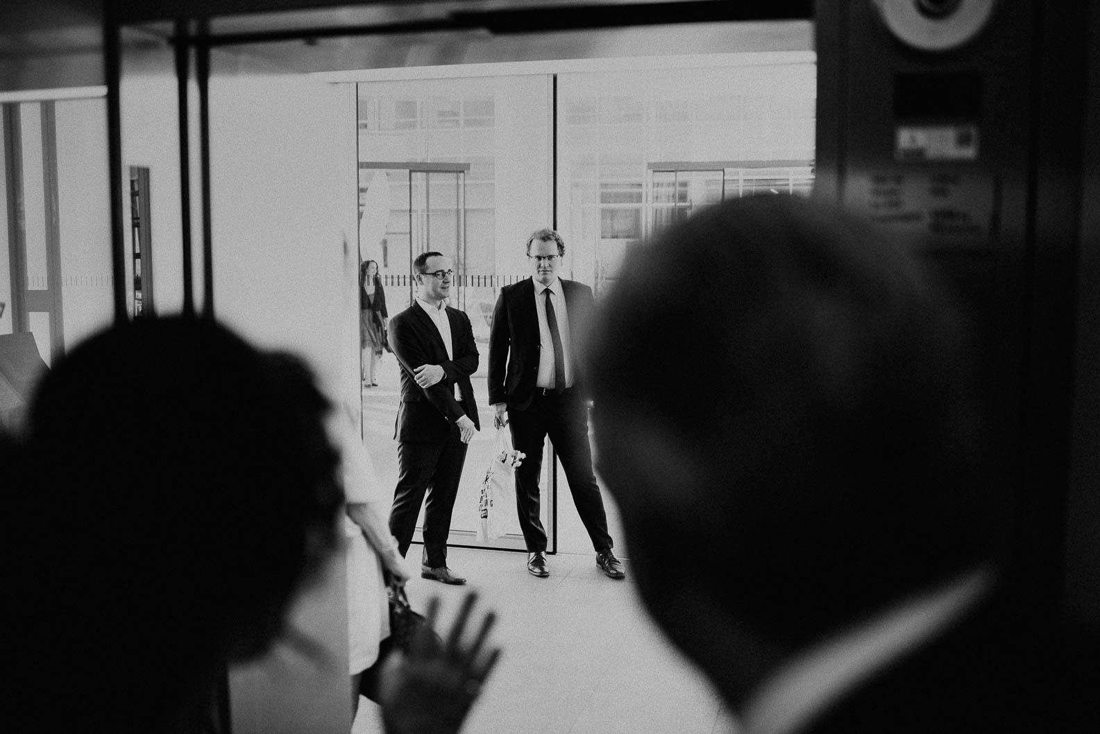 Mit Aufzug zur Hochzeitslocation KoelnSKY