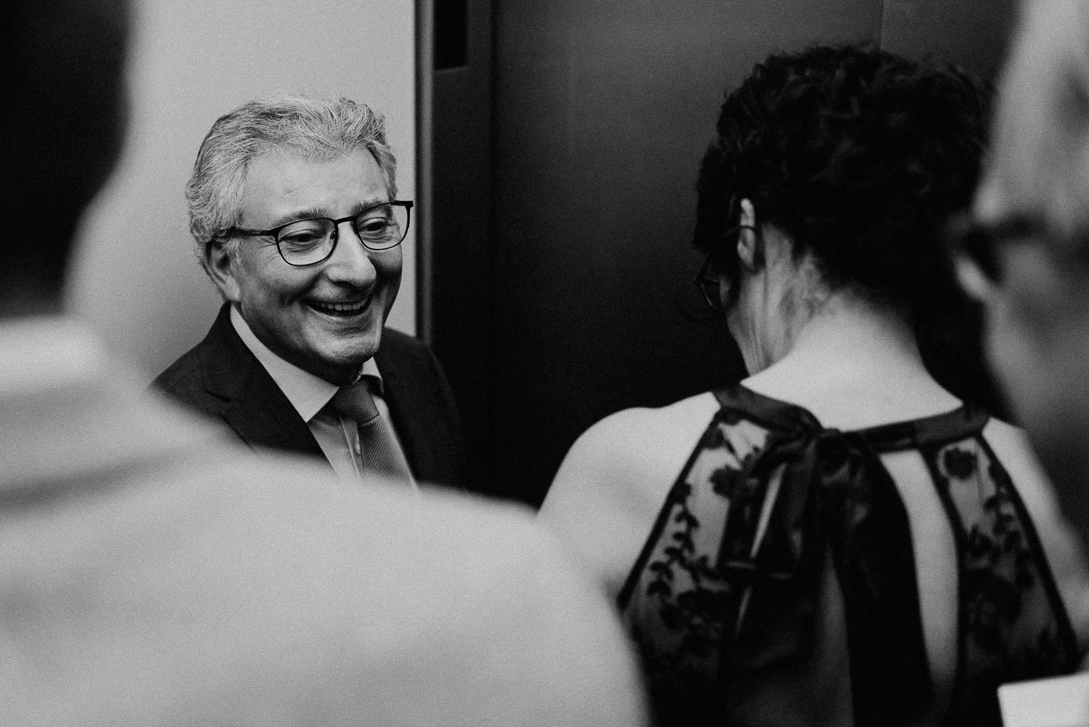 Mit Aufzug zur Hochzeitslocation in Koeln