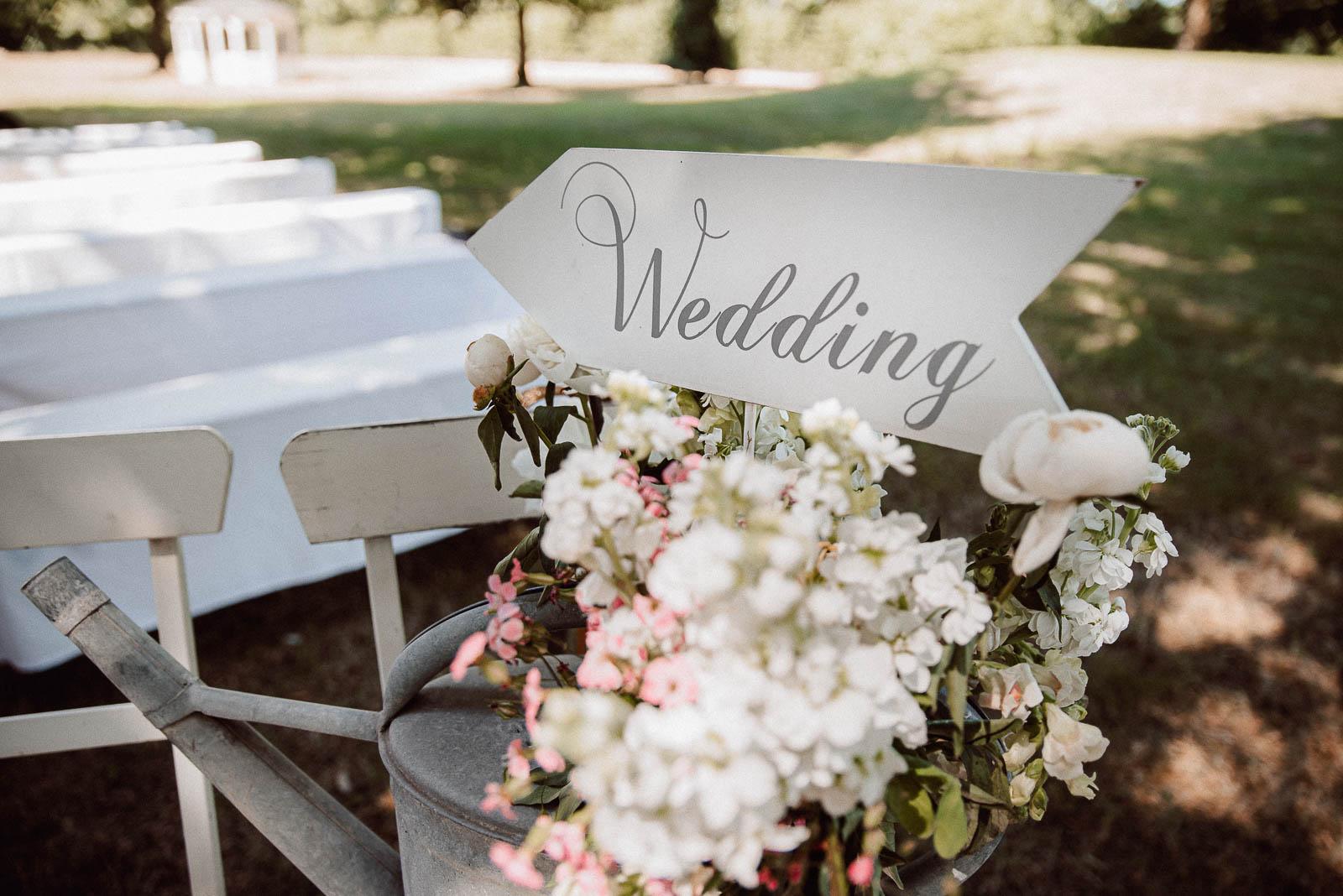 Dekoration Boho Hochzeit Schild Blumen