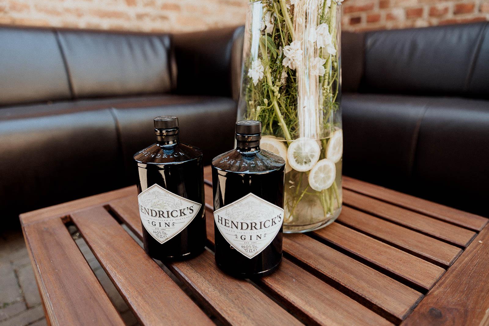 Hochzeit Whisky Gin Bar DIY
