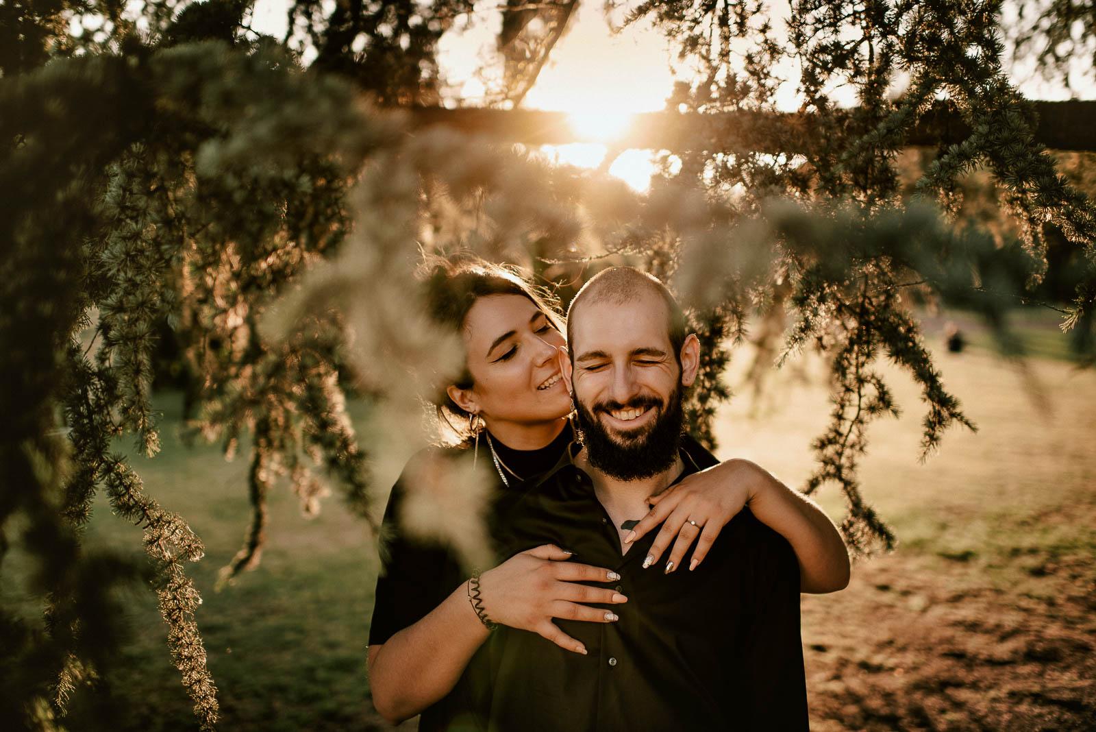 Coole Fotos von Verlobung